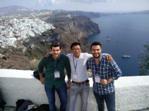 Me with my fellow conference attendees from SOCRATES project