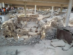 Ruins of Akrotiri.