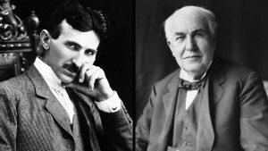 Figure 5 - Nicola Tesla and Thomas Edison