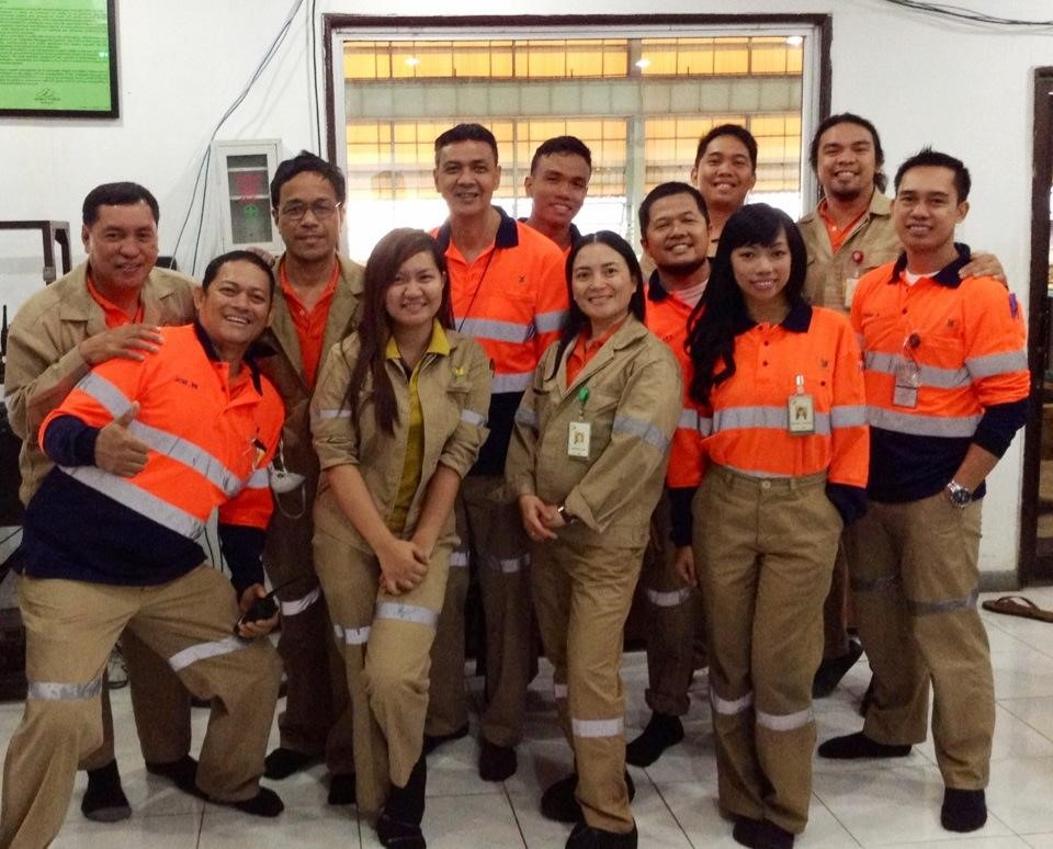 ESR 11, Jennifer Astoveza, with her former colleagues at PASAR Corporation in June 2015.