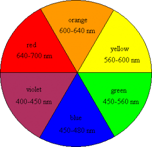 Figure 4- Colour wheel