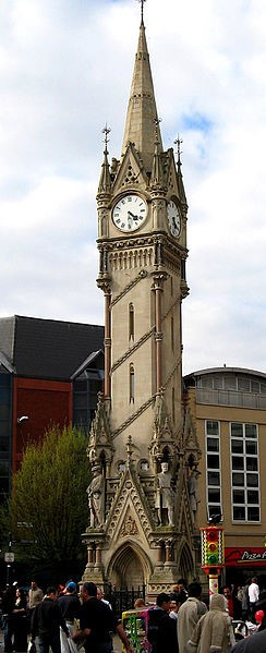Leicester clock tower. Source: https://commons.wikimedia.org/wiki/File:Leicester_clocktower.jpg
